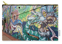 Carry-all Pouch featuring the photograph Salt Lake City - Mural 2 by Ely Arsha