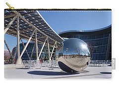 Carry-all Pouch featuring the photograph Salt Lake City Police Station - 1 by Ely Arsha