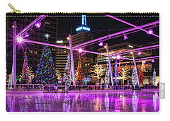 Carry-all Pouch featuring the photograph Salt Lake City - Skating Rink - 2 by Ely Arsha