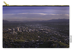 Salt Lake Valley Carry-all Pouch by Chad Dutson