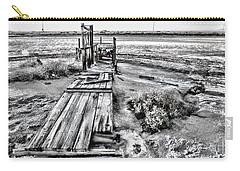 Salton Sea Dock Under Renovation By Diana Sainz Carry-all Pouch