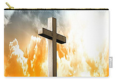 Carry-all Pouch featuring the photograph Salvation From Heaven by Aaron Berg