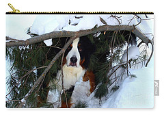 Carry-all Pouch featuring the photograph Sam And His Fort by Patti Whitten