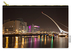 Samuel Beckett Bridge In Dublin City Carry-all Pouch