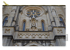 San Antonio Church 02 Carry-all Pouch by Shawn Marlow