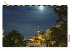San Antonio Cityscape Carry-all Pouch by Allen Sheffield