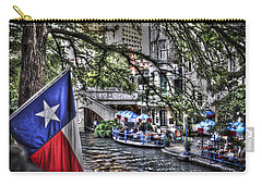 San Antonio Flag Carry-all Pouch