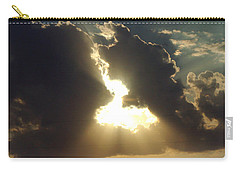 San Antonio Sunset Carry-all Pouch by Peter Piatt