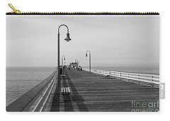 San Clemente Pier Carry-all Pouch by Ana V Ramirez
