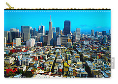 San Fran Colors Carry-all Pouch