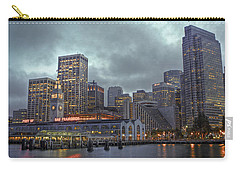 San Francisco Port All Lit Up Carry-all Pouch