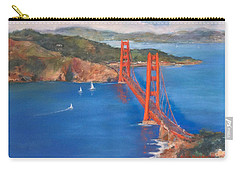 San Francisco Bay Bridge Carry-all Pouch