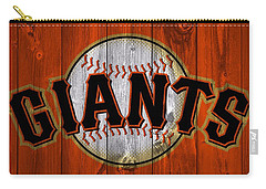 San Francisco Giants Barn Door Carry-all Pouch by Dan Sproul