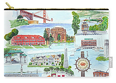 San Francisco Highlights Montage Carry-all Pouch