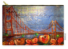 San Francisco Poppies For Lls Carry-all Pouch