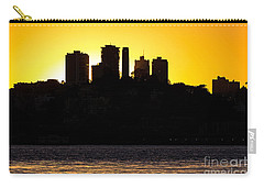 San Francisco Silhouette Carry-all Pouch by Kate Brown
