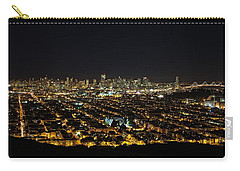 Carry-all Pouch featuring the photograph San Francisco Skyline by Dave Files