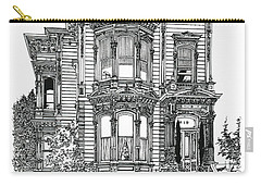 San Francisco Victorian   Carry-all Pouch