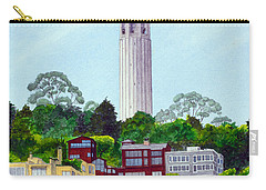 San Francisco's Coit Tower Carry-all Pouch