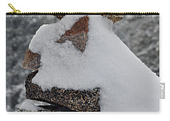 Carry-all Pouch featuring the photograph San Jacinto Balanced Rocks by Kyle Hanson