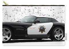 San Luis Obispo County Sheriff Viper Patrol Car Carry-all Pouch
