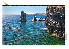 San Pietro Island - Le Colonne Carry-all Pouch by Antonio Scarpi
