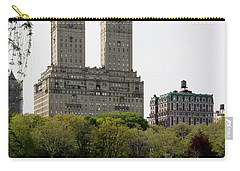 San Remo Towers Nyc Carry-all Pouch by Christiane Schulze Art And Photography
