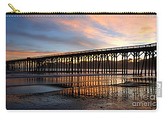 San Simeon Pier Carry-all Pouch by Vivian Christopher