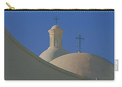 Carry-all Pouch featuring the photograph San Xavier Del Bac by Susan Rovira