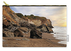 Sand And Rocks Carry-all Pouch
