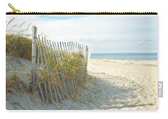 Sand Beach Ocean And Dunes Carry-all Pouch