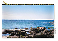 Sand Beach Rocky Shore   Carry-all Pouch by Lars Lentz