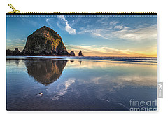 Sand Dollar Sunset Repose Carry-all Pouch