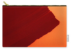 Carry-all Pouch featuring the photograph Sand Dune Curves Coral Pink Sand Dunes Arizona by Dave Welling