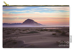 Sand Dunes At Sunset At Morro Bay Beach Shoreline  Carry-all Pouch