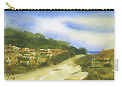 Sand Dunes On Hilton Head Island Carry-all Pouch by Frank Bright