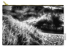 Carry-all Pouch featuring the photograph Sand In Ma Shoes by Robert McCubbin