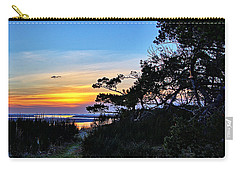Sand Lake Sunset Carry-all Pouch