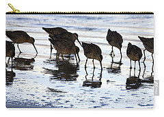 Sand Pipers Reflected Carry-all Pouch