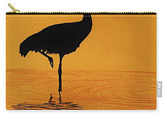 Sandhill - Crane - Sunset Carry-all Pouch