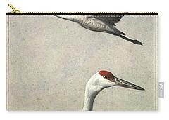 Sandhill Crane Carry-All Pouches