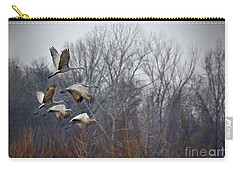 Sandhill Cranes Takeoff Carry-all Pouch