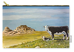Sandhills Spring Carry-all Pouch by Bern Miller