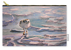 Sandpiper And Seafoam 3-8-15 Carry-all Pouch