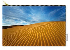 Sands Of Time Carry-all Pouch by Darren  White