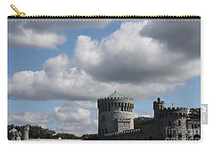 Carry-all Pouch featuring the photograph Sands Point Castle by John Telfer