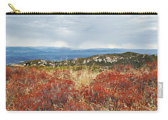 Sandstone Peak Fall Landscape Carry-all Pouch