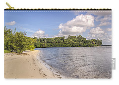 Carry-all Pouch featuring the photograph Sandy Beach by Jane Luxton