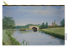 Sandy Bridge Carry-all Pouch by Martin Howard