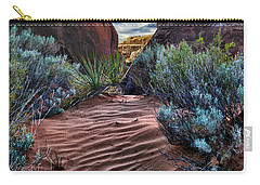 Sandy Trail Arches National Park Carry-all Pouch